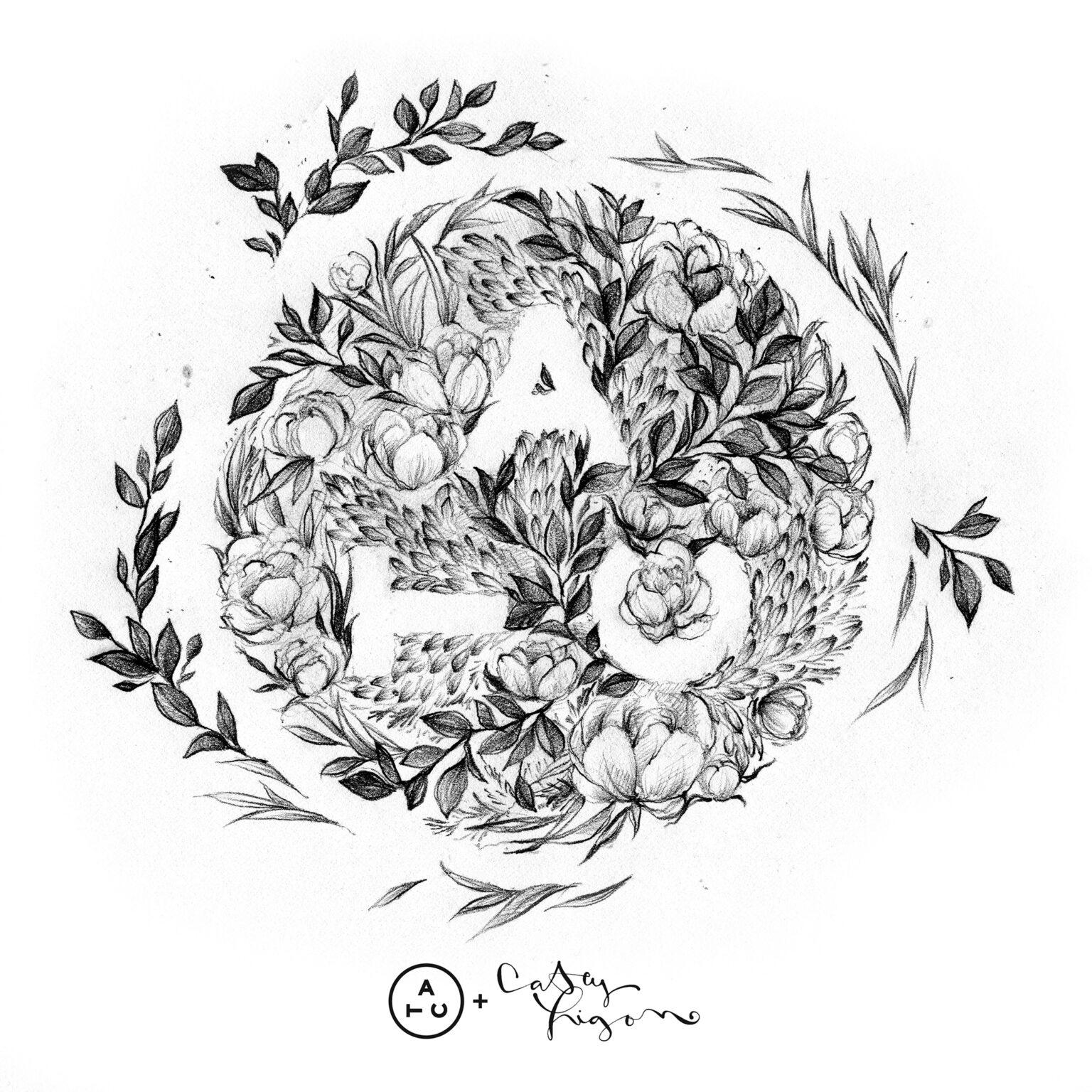 ATC Artist Series Casey Ligon Letter Logo