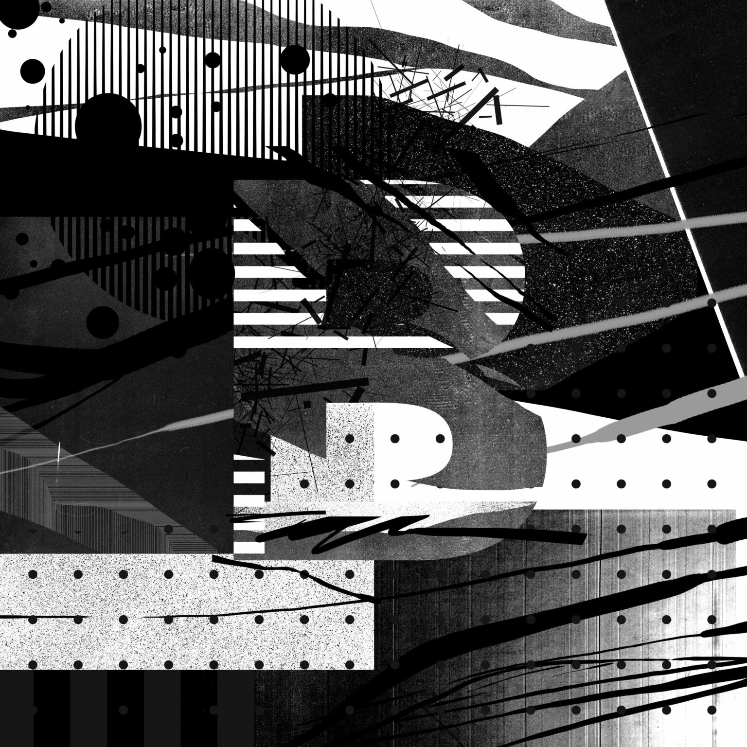 ATC Artist Series Blasto Uno Letter B