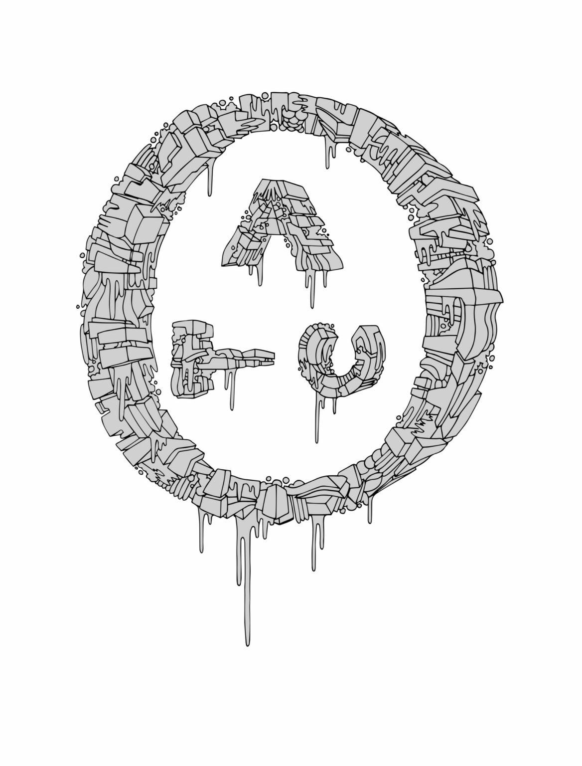 ATC Artist Series Ed Dufill Letter Logo