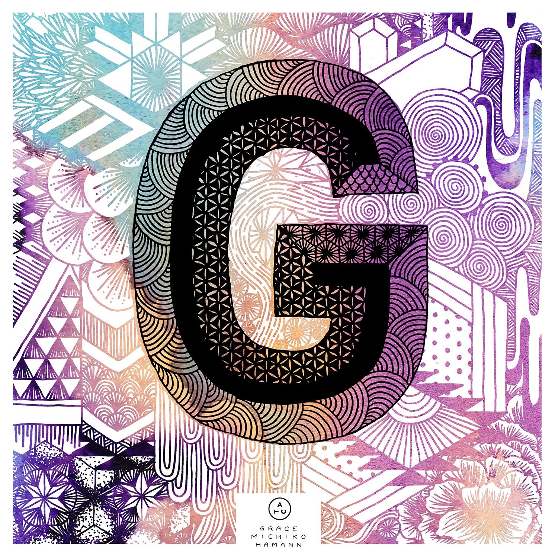 ATC Artist Series Grace Hamann Letter G