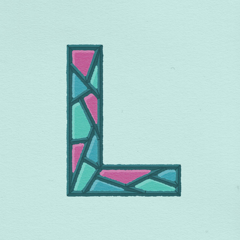 ATC Artist Series Josh Lafayette Letter L