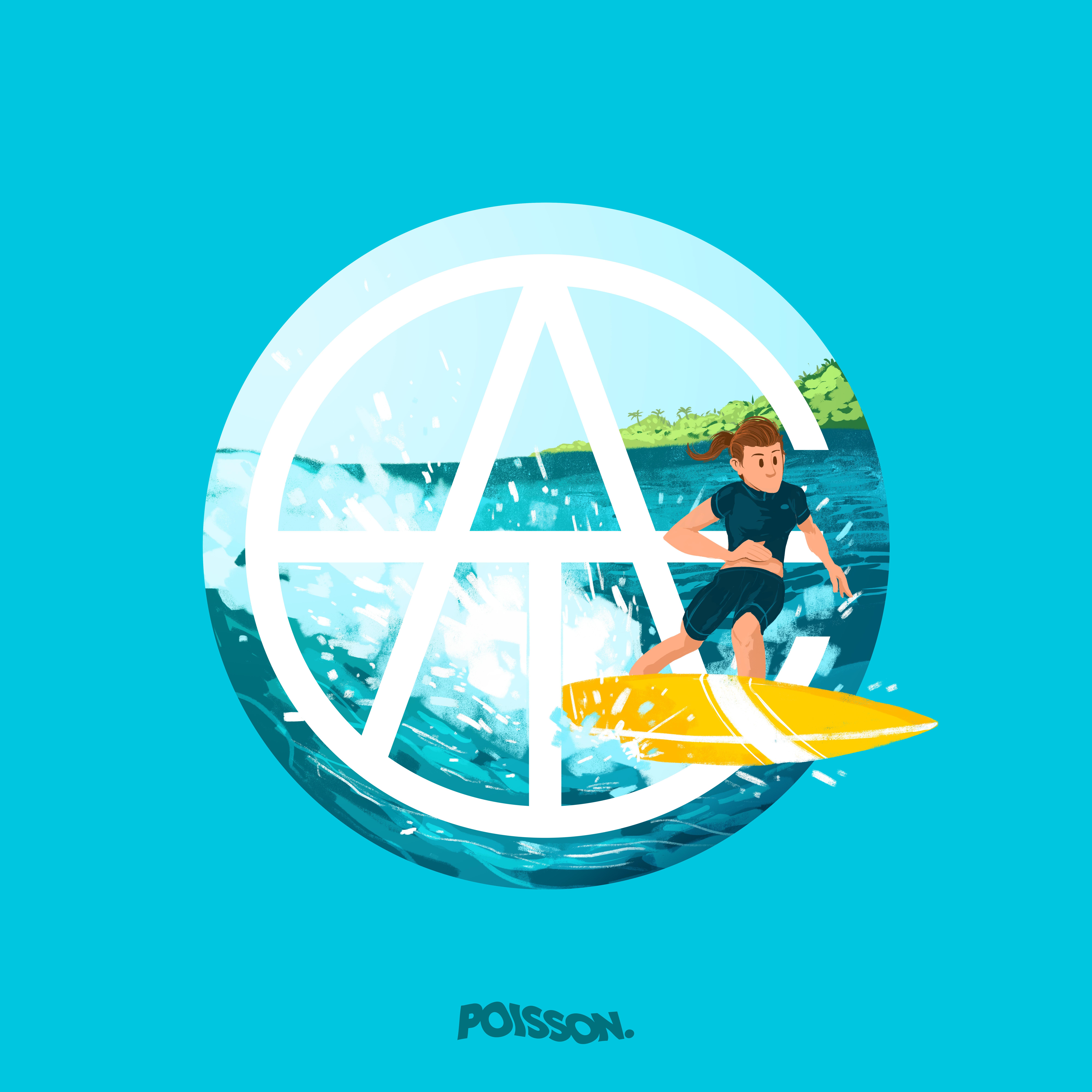 ATC Artist Series Julien Poisson Letter Logo