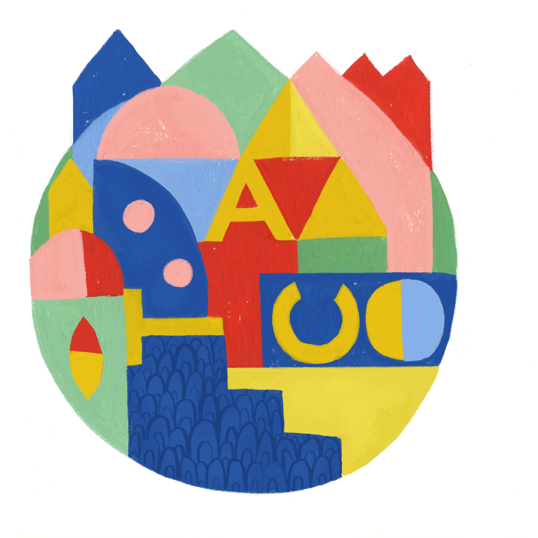 ATC Artist Series Caitlin B. Alexander Letter Logo
