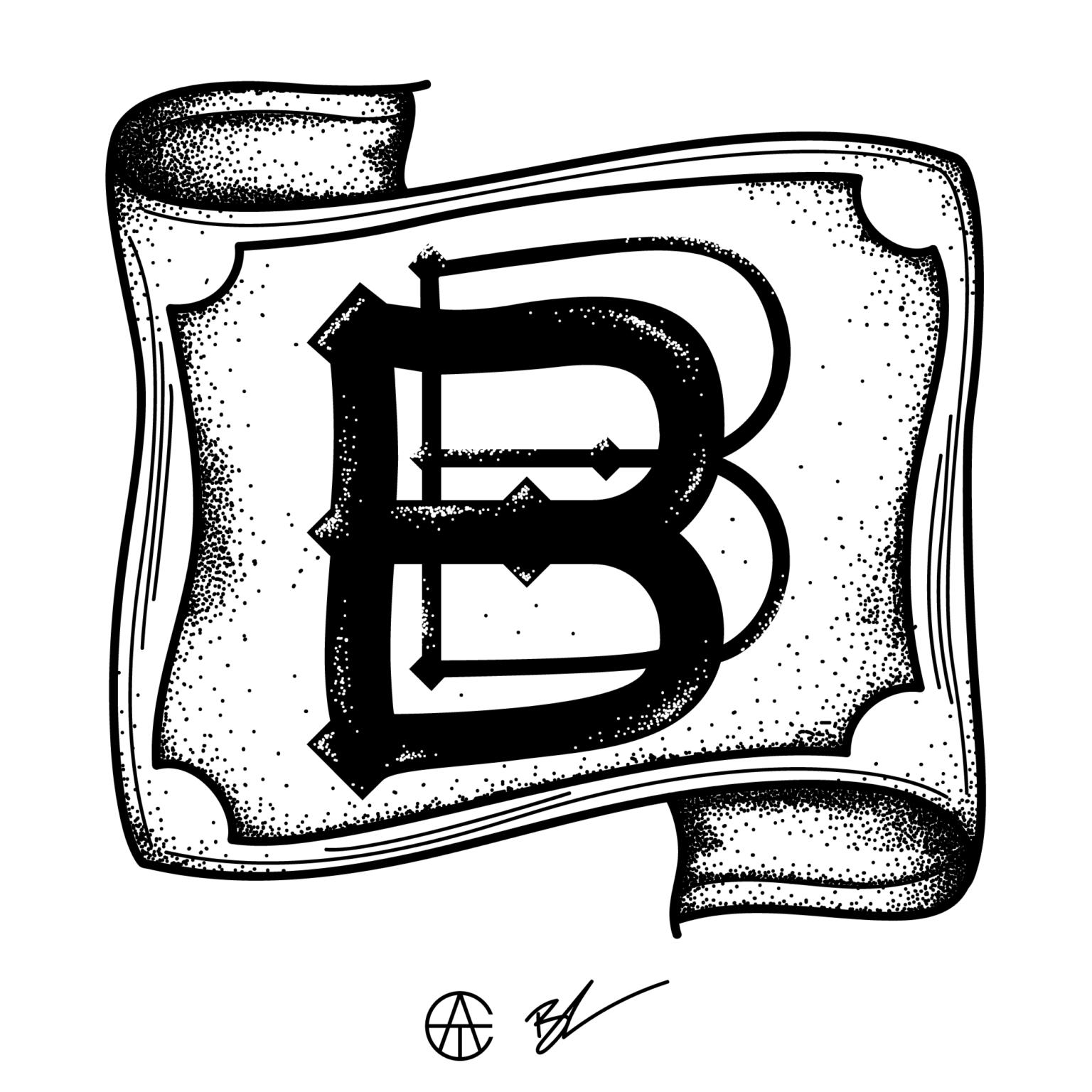 ATC Artist Series Breanna Rawn Letter B