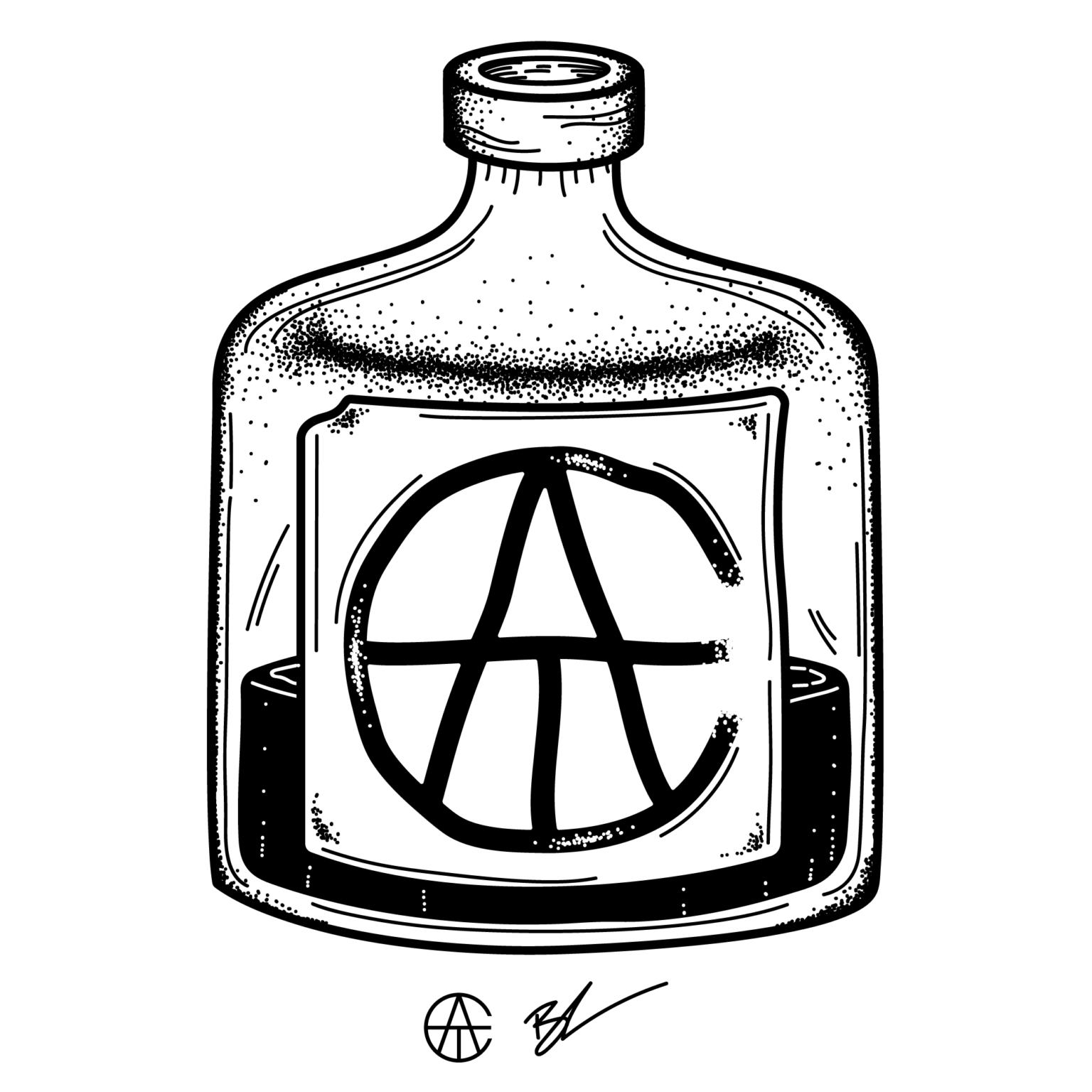 ATC Artist Series Breanna Rawn Letter Logo