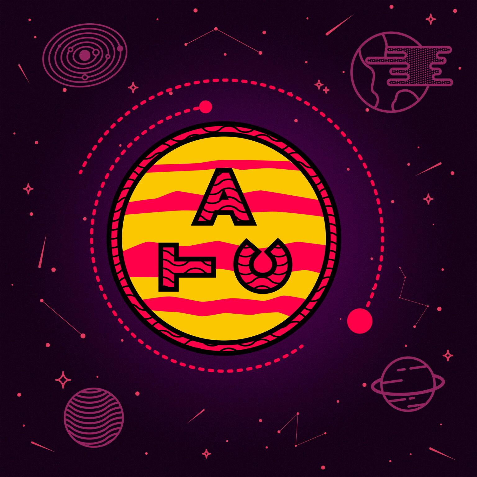 ATC Artist Series Daniel Aberg Letter Logo