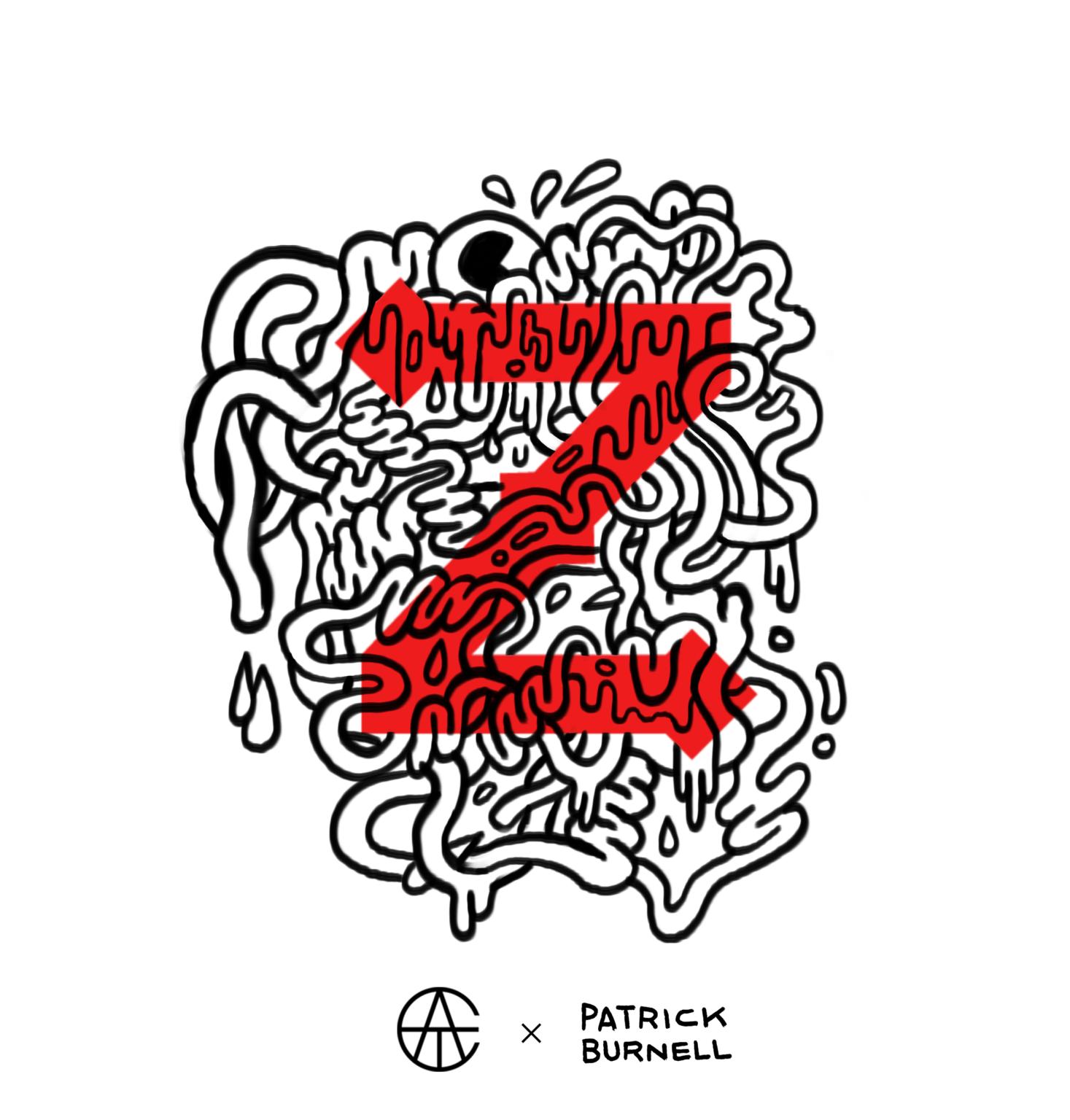 ATC Artist Series Patrick Burnell Letter Z