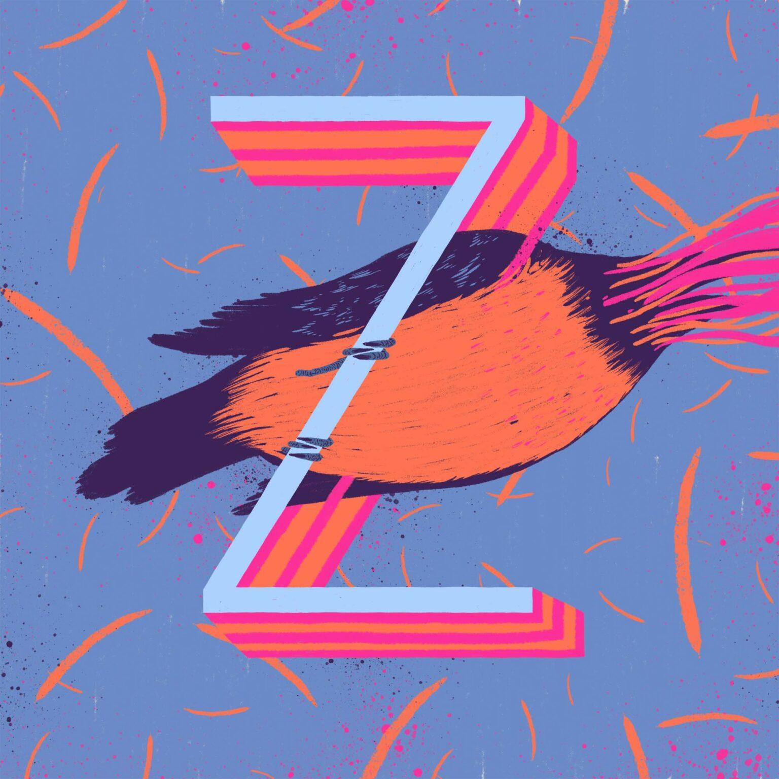 ATC Artist Series Zansky Letter Z