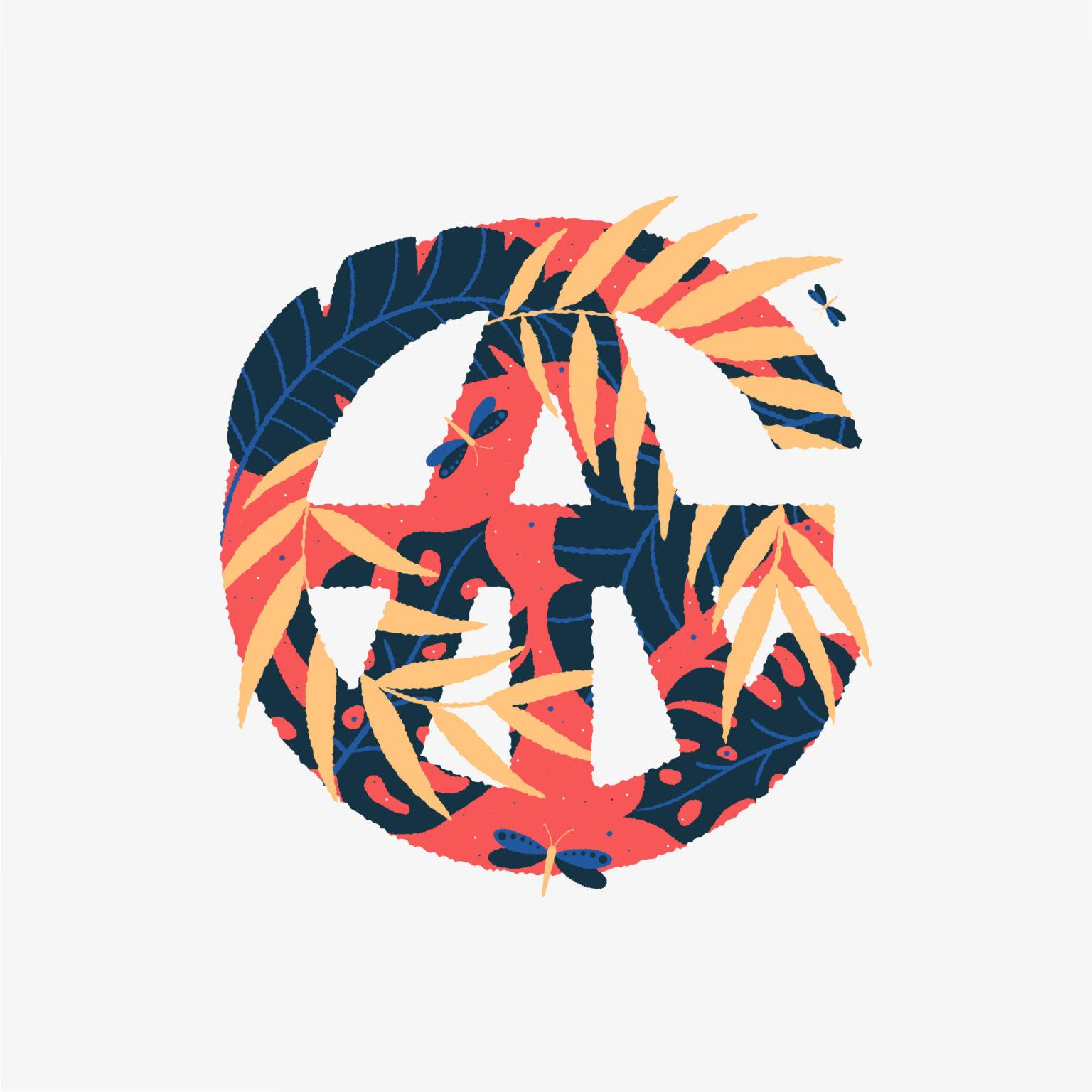 ATC Artist Series Mat Voyce Letter Logo