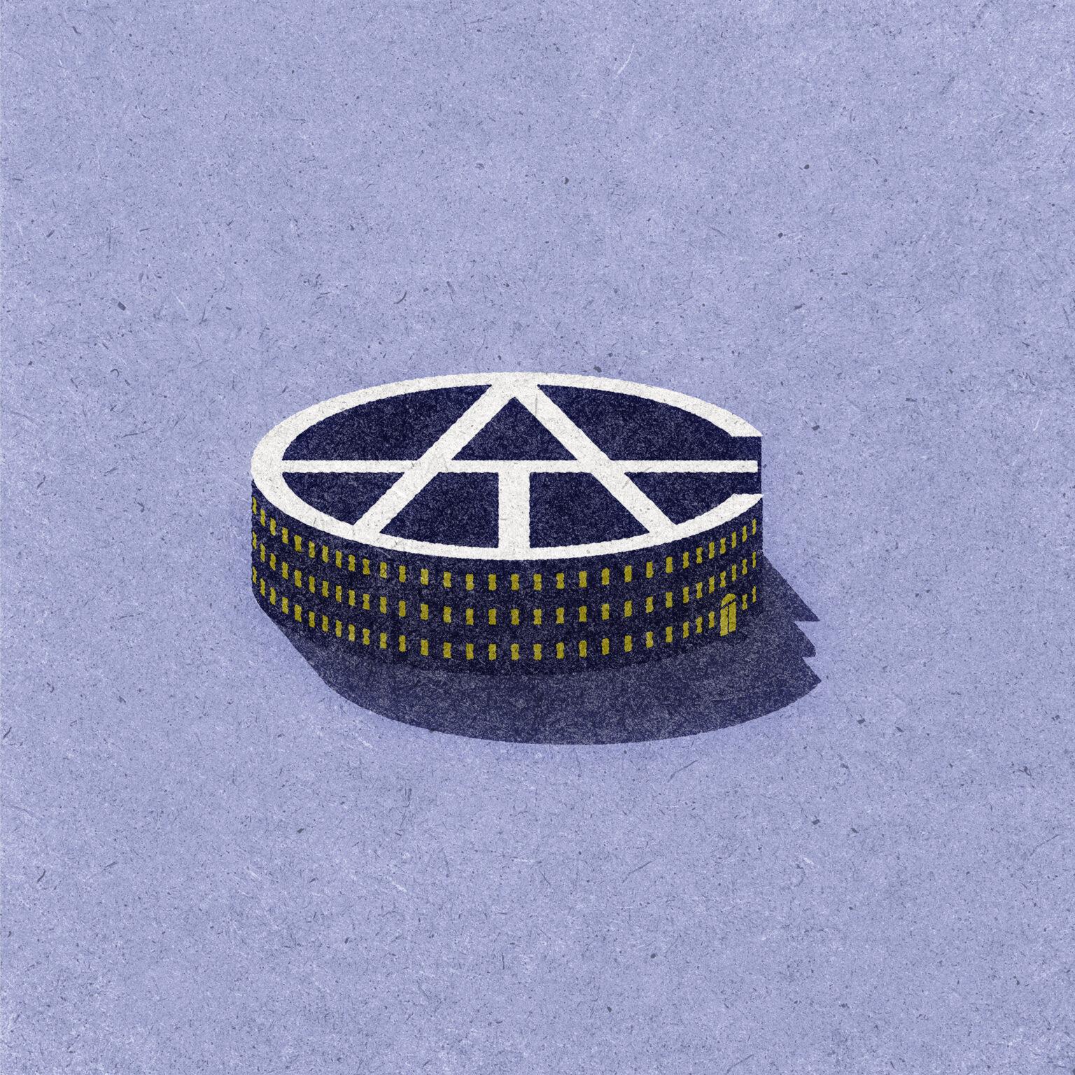 ATC Artist Series Paul Engel Letter Logo