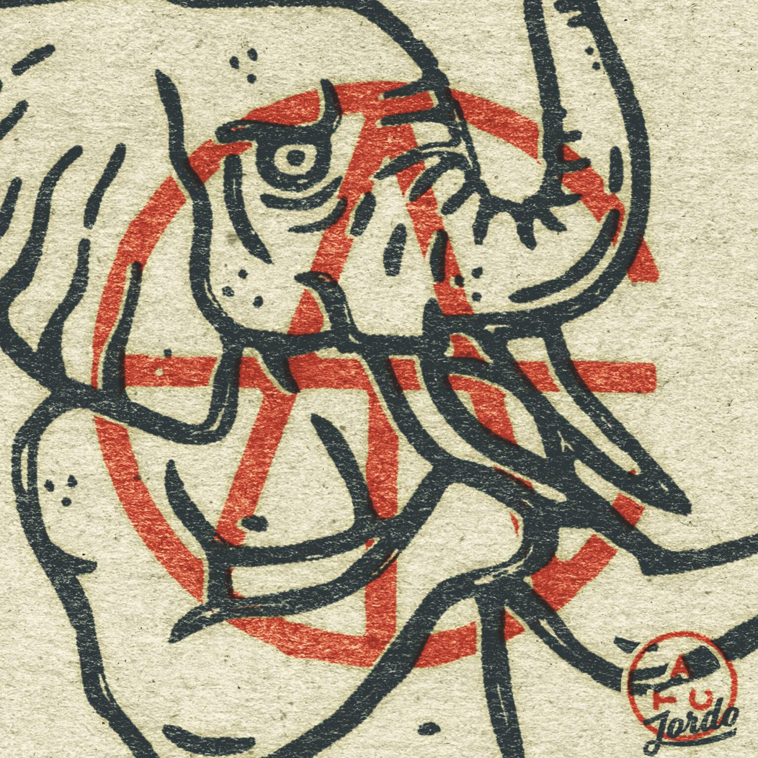ATC Artist Series Jordan Kabalka Letter Logo