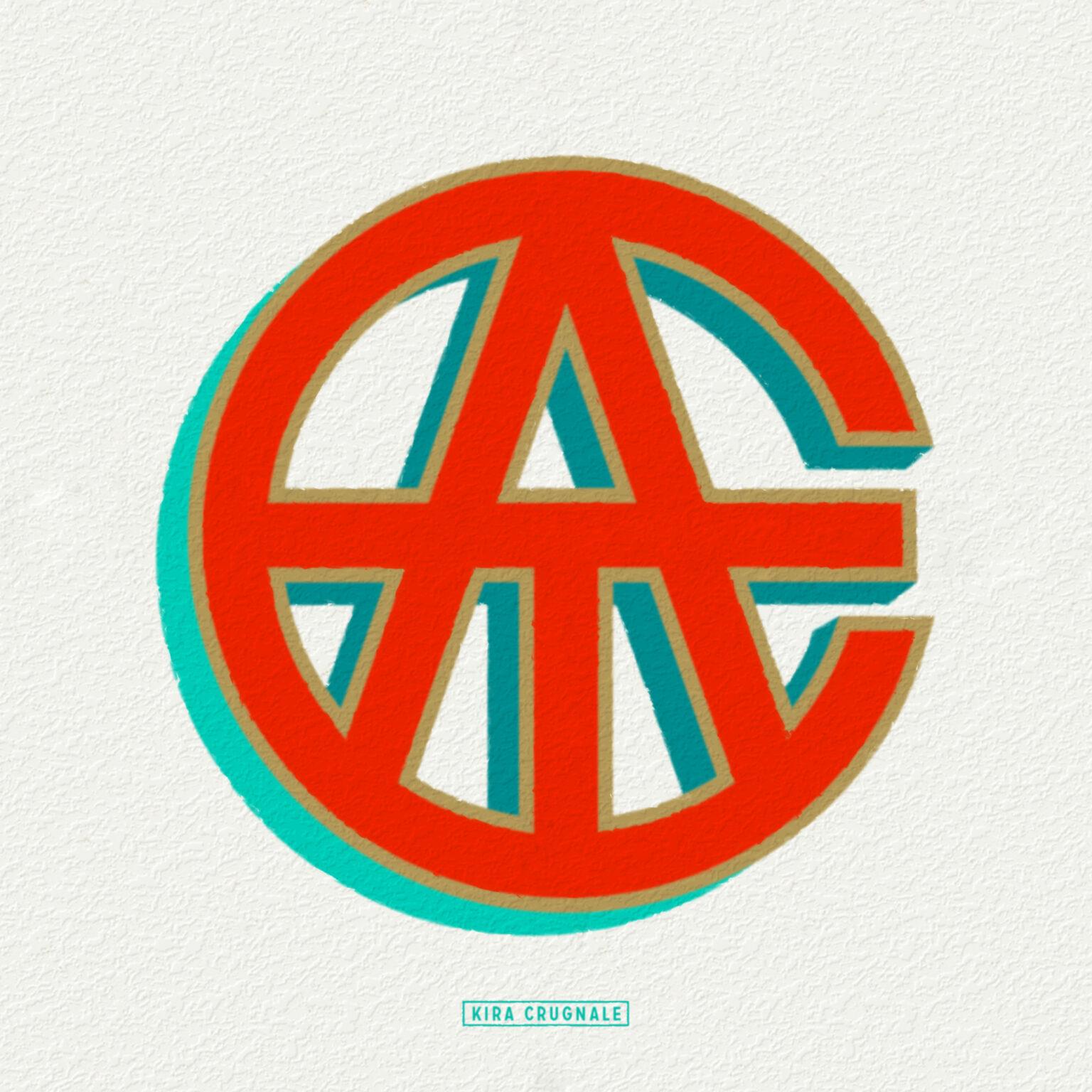 ATC Artist Series Kira Crugnale Letter Logo